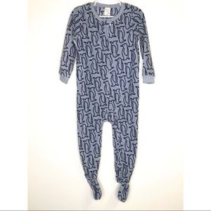 Baby Gap fleece footed pajamas